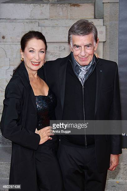 Daniela Ziegler and Rolf Kuehne attend the premiere for the musical 'Chicago' at Theater des Westens on October 11 2015 in Berlin Germany