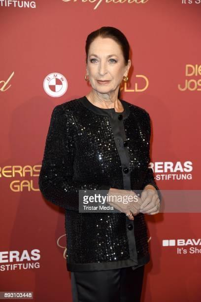Daniela Ziegler attends the 23th Annual Jose Carreras Gala on December 14, 2017 in Munich, Germany.