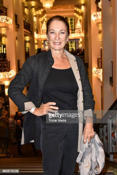 Daniela Ziegler attends the award winner concert of federal singing competition on December 4 2017 in Berlin Germany