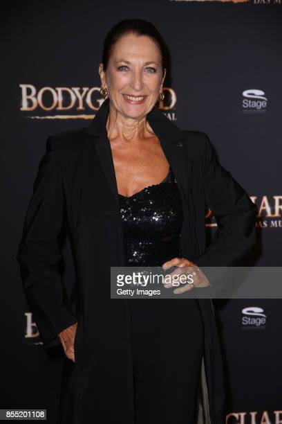 Daniela Ziegler attends the black carpet at the 'Bodyguard Das Musical' premiere at Stage Palladium Theater on September 28 2017 in Stuttgart Germany
