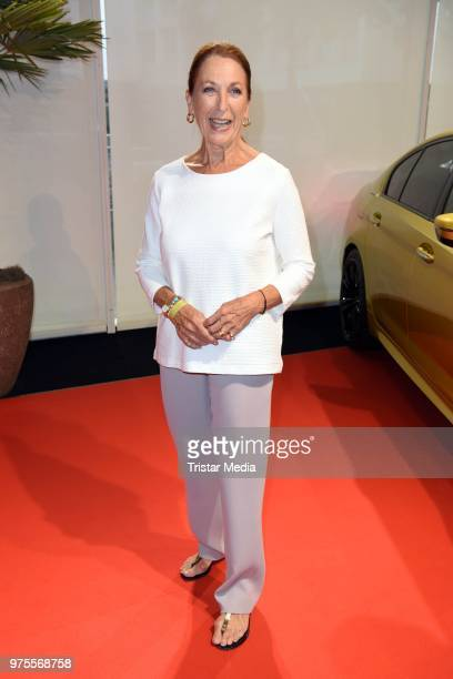 Daniela Ziegler attends the cocktail party during the semifinal round of judging of the International Emmy Awards 2018 on June 15 2018 in Berlin...