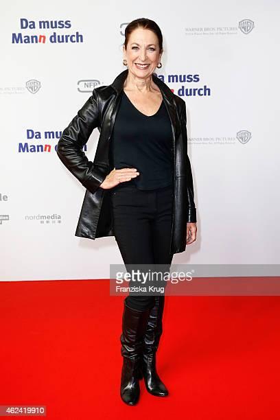 Daniela Ziegler attends the 'Da muss Mann durch' German Premiere on January 28 2015 in Berlin Germany
