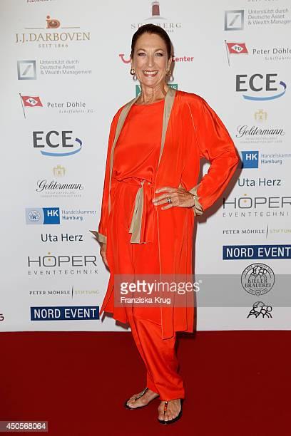 Daniela Ziegler attends the 'Das Herz im Zentrum' Charity Gala on June 13 2014 in Hamburg Germany