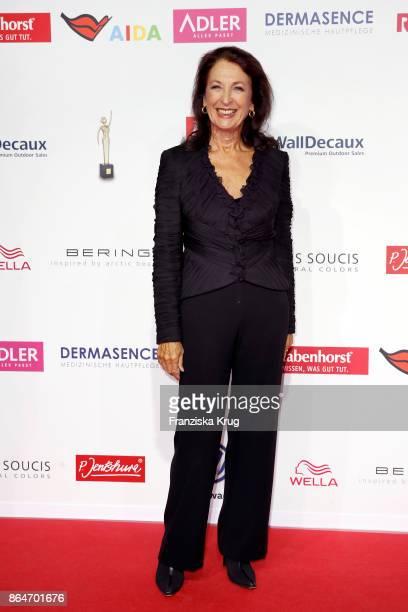 Daniela Ziegler attends the 'Goldene Bild der Frau' award at Hamburg Cruise Center on October 21 2017 in Hamburg Germany