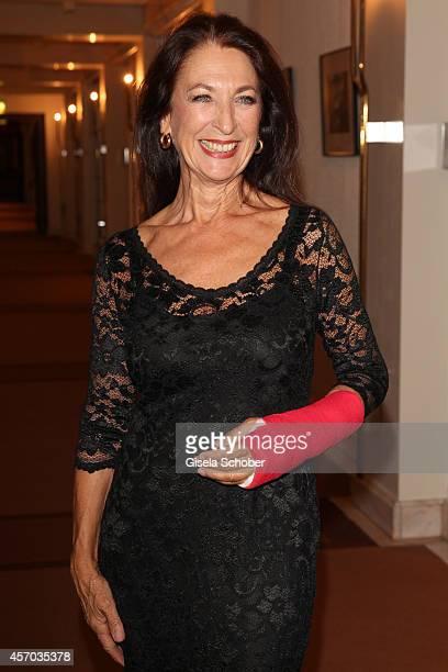 Daniela Ziegler attends the Hessian Film And Cinema Award 2014 on October 10 2014 at Alte Oper in Frankfurt am Main Germany