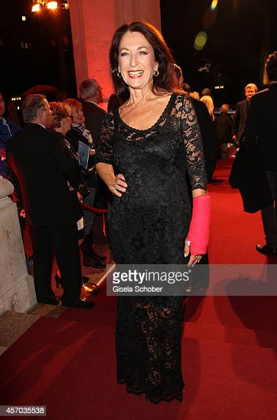 Daniela Ziegler attends the Hessian Film And Cinema Award 2014 on October 10, 2014 at Alte Oper in Frankfurt am Main, Germany.