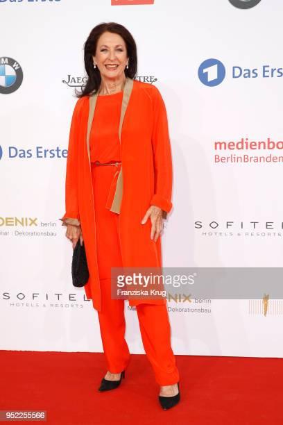 Daniela Ziegler attends the Lola German Film Award red carpet at Messe Berlin on April 27 2018 in Berlin Germany
