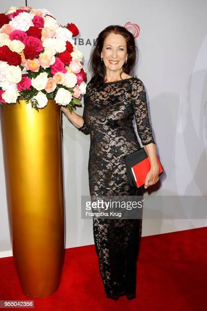 Daniela Ziegler attends the Rosenball charity event at Hotel Intercontinental on May 5 2018 in Berlin Germany