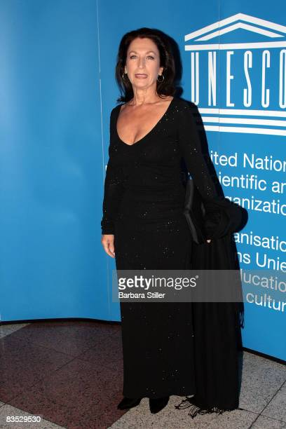 Daniela Ziegler attends the UNESCO Benefit Gala for Children 2008 at Hotel Maritim on November 1 2008 in Cologne Germany