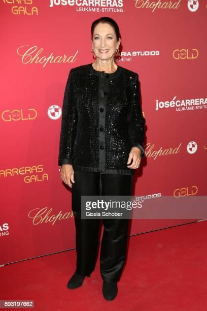 Daniela Ziegler during the 23th annual Jose Carreras Gala at Bavaria Filmstudios on December 14, 2017 in Munich, Germany.