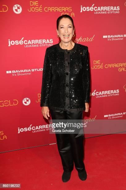 Daniela Ziegler during the 23th annual Jose Carreras Gala at Bavaria Filmstudios on December 14 2017 in Munich Germany