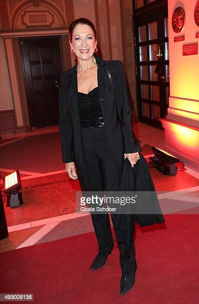 Daniela Ziegler during the Hessian Film and Cinema Award 2015 at Alte Oper on October 16 2015 in Frankfurt am Main Germany