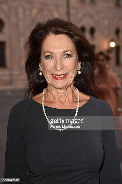 Daniela Ziegler during the 'Jose Carreras Foundation Celebrates Its 20th Anniversary' at Kaisersaal on September 16 2015 in Munich Germany