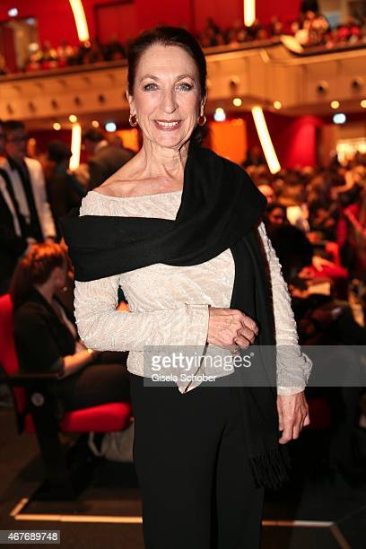 Daniela Ziegler during the premiere of the musical Elisabeth at Deutsches Theatre on March 26 2015 in Munich Germany