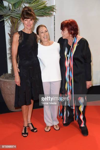 Daniela Ziegler Regina Ziegler and her daughter Tanja Ziegler attend the Cocktail prolonge to the SemiFinal Round of Judging of the International...