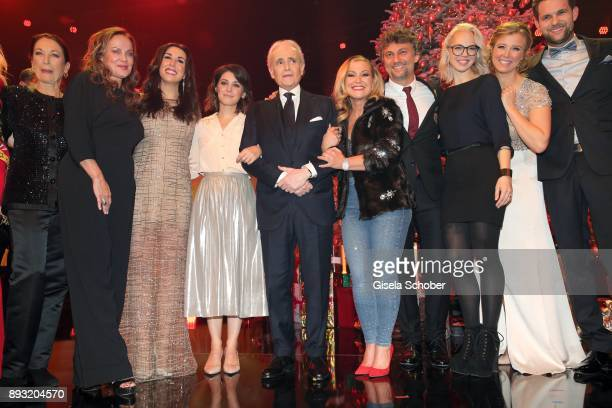 Daniela Ziegler Sonja Kirchberger Judith Williams Katie Melua Jose Carreras Anastacia Jonas Kaufmann Stefanie Heinzmann and Nina Eichinger during the...