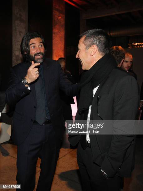 Daniele Adani attend FC Internazionale Christmas Party on December 18 2017 in Milan Italy