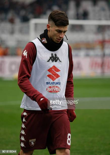 Daniele Baselli during Serie A match between Torino v Bologna in Turin on January 6 2018