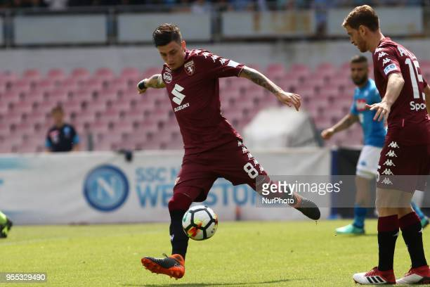 Daniele Baselli during the Italian Serie A football SSC Napoli v Torino FC at S Paolo Stadium in Naples on May 6 2018