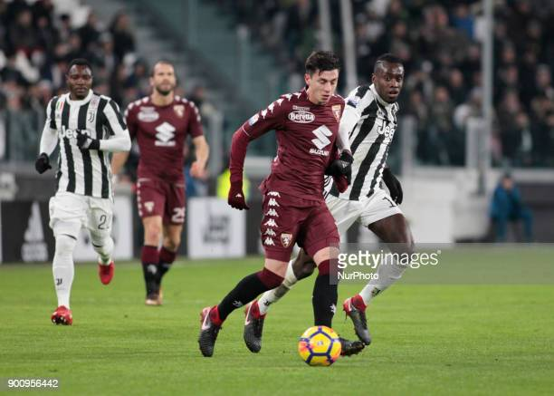 Daniele Baselli during Tim Cup 2017/2018 match between Juventus v Torino in Turin on January 3 2018