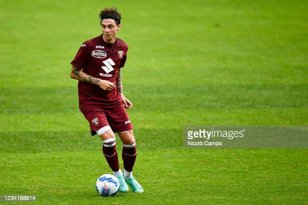 Daniele Baselli of Torino FC in action during the pre-season friendly football match between Torino FC and SSV Brixen. Torino FC won 5-1 over SSV...