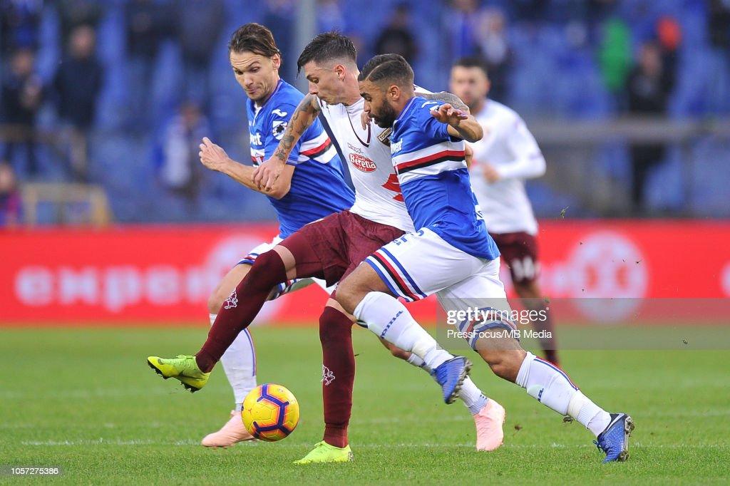 UC Sampdoria v Torino FC - Serie A : News Photo