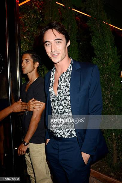 Daniele Cavalli attends the Busy Signal and Major Lazer Party at the VIP ROOM on July 30 2013 in Saint Tropez France
