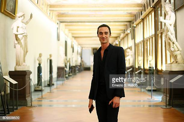 Daniele Cavalli attends the Les Petits Joueurs Dinner at Galleria Uffizi on September 20 2016 in Florence Italy