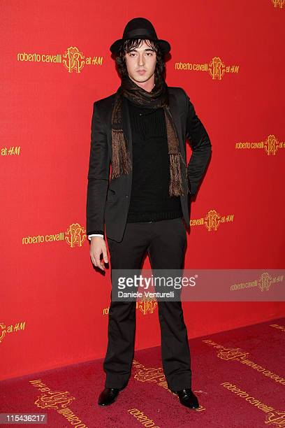 Daniele Cavalli attends the Roberto Cavalli at HM collection launch party on October 25 2007 in Rome Italy