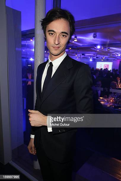 Daniele Cavalli attends the Sidaction Gala Dinner 2013 at Pavillon d'Armenonville on January 24 2013 in Paris France