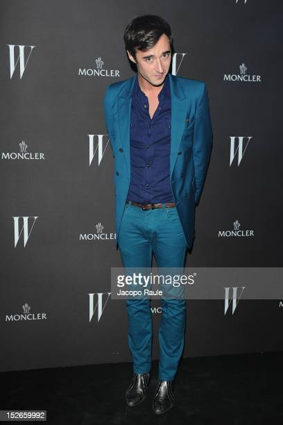 Daniele Cavalli attends W Magazine Dance Party during Milan Fashion Week Womenswear S/S 2013 on September 23 2012 in Milan Italy