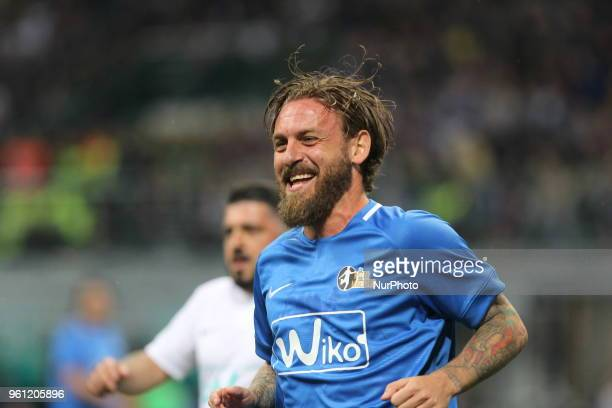 Daniele De Rossi during quotLa partita del Maestroquot the farewell match by Andrea Pirlo at Giuseppe Meazza stadium on May 21 2018 in Milan Italy
