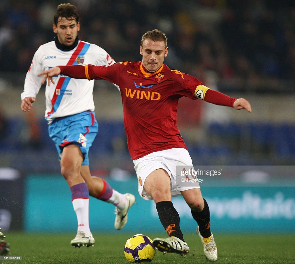 Daniele De Rossi Of As Roma Calcio In Action During The Tim Cup News Photo Getty Images