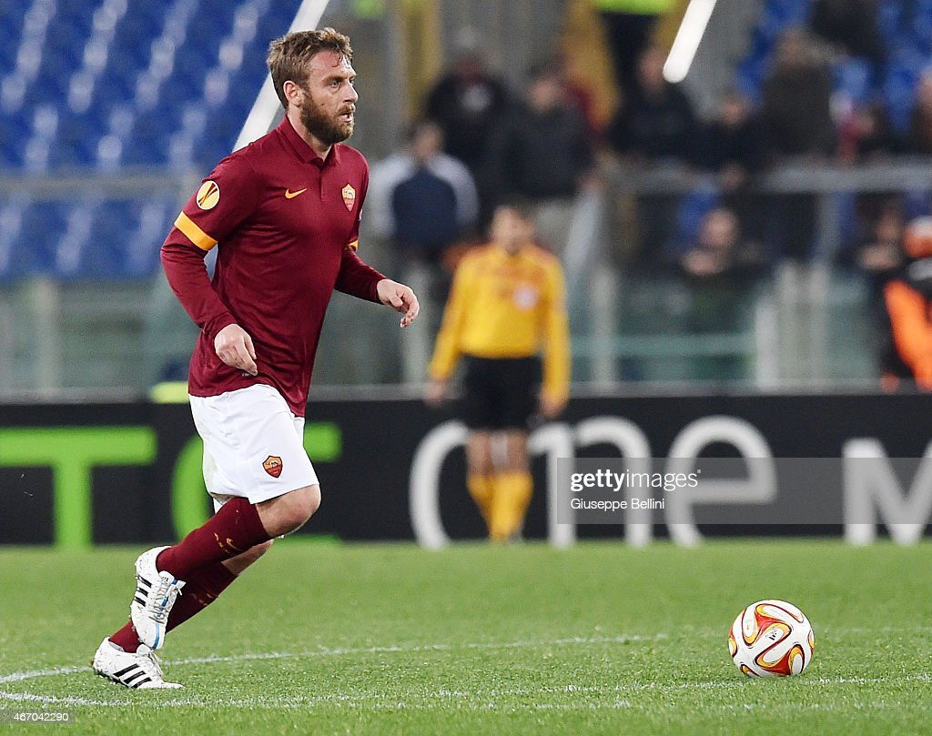 AS Roma v ACF Fiorentina - UEFA Europa League Round of 16 : News Photo