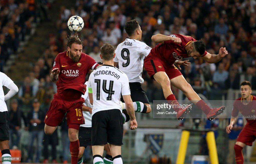 A.S. Roma v Liverpool - UEFA Champions League Semi Final Second Leg : News Photo