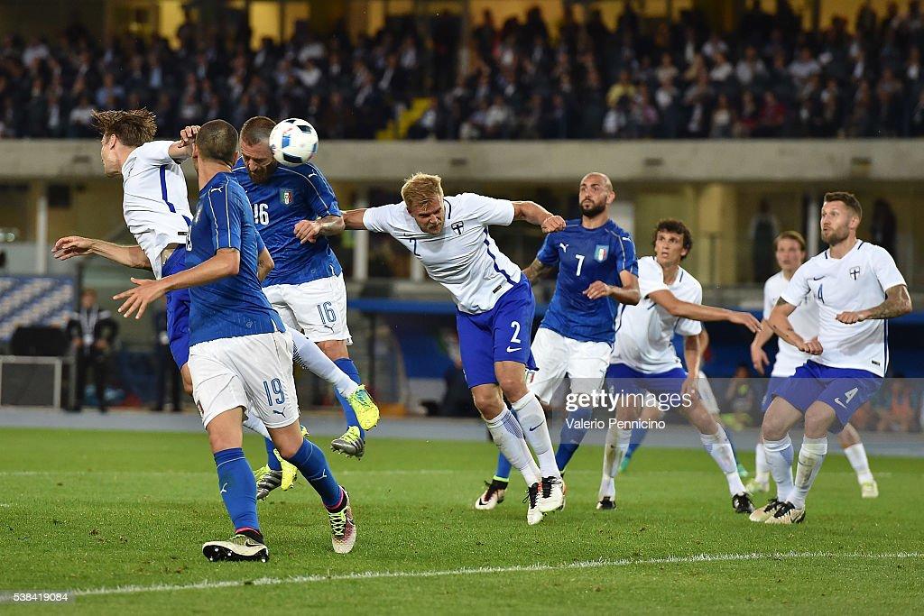 Italy v Finland - International Friendly