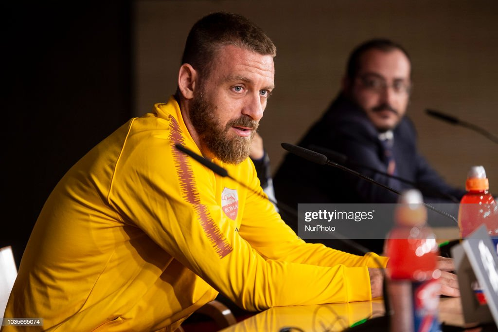 Roma Press Conference - UEFA Champions League