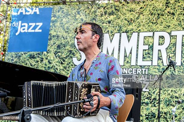 Daniele Di Bonaventura Duo per bandoneon performed during the Italian jazz in solidarity with Amatrice and other areas hit by the earthquake The aim...