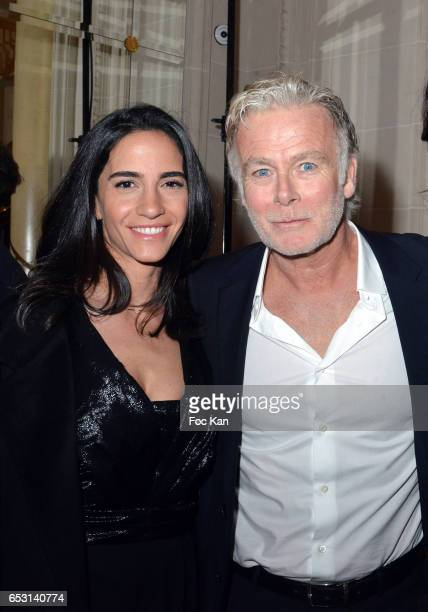 Daniele Dubosc and Franck Dubosc attend 'La Recherche en Physiologie' Charity Gala at Four Seasons Hotel George V on March 13 2017 in Paris France