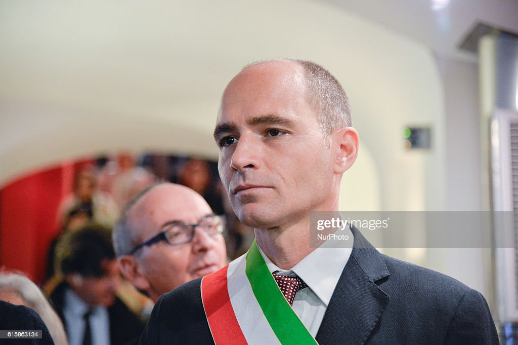 Opening of the exhibition ISTAT : News Photo