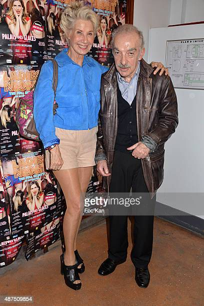 Daniele Gilbert and Patrick Scemama attend the 'Ladies Night' Generale at the Palais des Glaces on September 9on September 9 2015 in Paris France