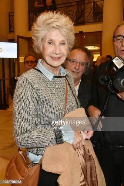 Daniele Gilbert attends 26th Gala de L'Espoir Ligue contre Le Cancer at Theatre des Champs Elysees on October 22 2018 in Paris France