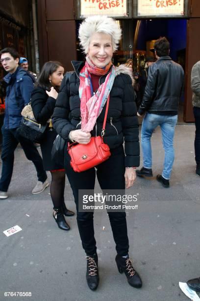 Daniele Gilbert attends the Vive la Crise Paris Premiere at Cinema Max Linder on May 2 2017 in Paris France