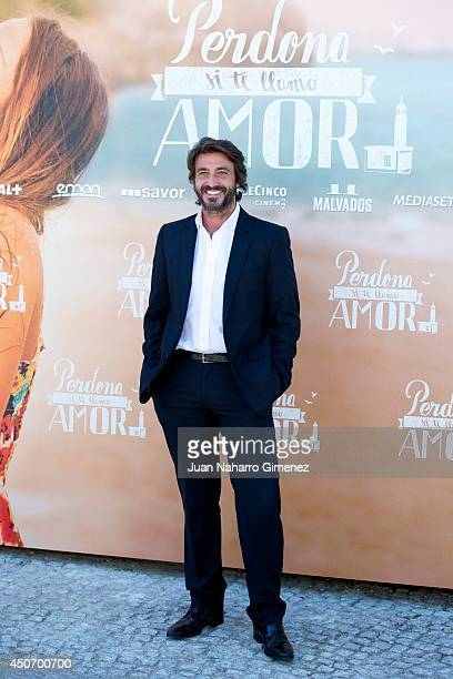 Daniele Liotti attends 'Perdona Si Te Llamo Amor' photocall at Cafeteria Rio on June 16 2014 in Madrid Spain