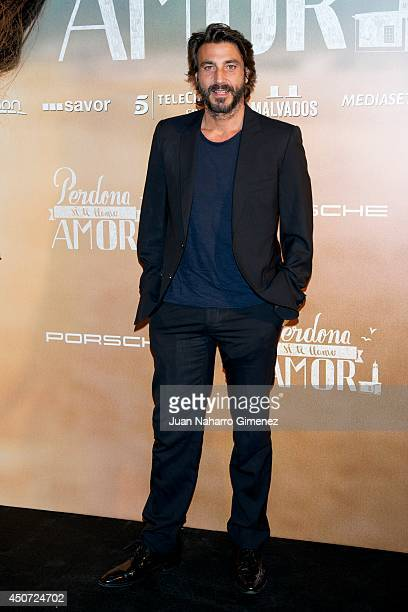 Daniele Liotti attends 'Perdona Si Te Llamo Amor' premiere at Cines Cinesa Mendez Alvaro on June 16 2014 in Madrid Spain