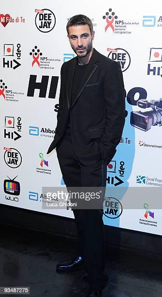 Daniele Liotti attends the 2009 HIVideo spot award at Alcatraz on November 29 2009 in Milan Italy