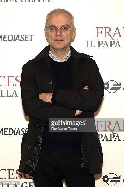 Daniele Luchetti attends 'Francesco Il Papa della Gente' TV show presentation at cinema Odeon on December 1 2016 in Milan Italy