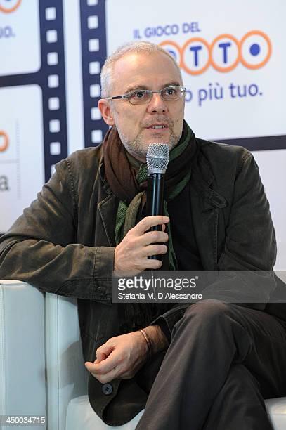 Daniele Luchetti attends the Casting Awards Ceremony during the 8th Rome Film Festival at the Auditorium Parco Della Musica on November 16 2013 in...