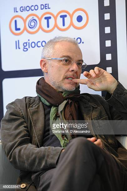 Daniele Luchetti attends the Collateral Awards Ceremony during the 8th Rome Film Festival at the Auditorium Parco Della Musica on November 16 2013 in...
