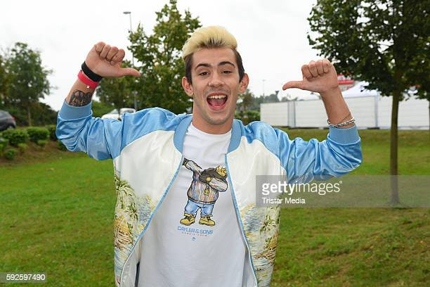 Daniele Negroni attends the Kinderhospiz Charity Open Air at Helvetiaparc on August 20 2016 in GrossGerau Germany